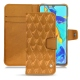 HuaweiP30 Pro leather case - Or Maïa - Couture