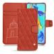 HuaweiP30 Pro leather case - Arange clouquié - Couture