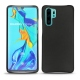 Huawei P30 Pro leather cover - Noir ( Nappa - Black )