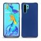 Capa em pele Huawei P30 Pro - Bleu océan ( Nappa - Pantone 293C )
