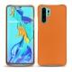 Huawei P30 Pro leather cover - Orange ( Nappa - Pantone 1495U )