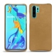 Huawei P30 Pro leather cover - Sable vintage ( Roughtcut - Gaucho#57254 )