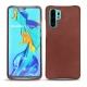 Coque cuir Huawei P30 Pro - Passion vintage ( Glutton - Red )
