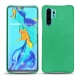 Huawei P30 Pro leather cover - Menthe vintage ( Pantone 562C )