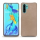 Huawei P30 Pro leather cover - Taupe vintage ( Pantone 7530C )