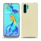 Huawei P30 Pro leather cover - Ivoire ( Sleek P C12 - White )