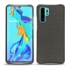 Huawei P30 Pro leather cover - Anthracite ( Pantone 424C )
