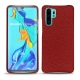 Huawei P30 Pro leather cover - Tomate ( Pantone 187C )