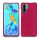 Huawei P30 Pro leather cover - Rose fluo