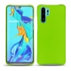 Huawei P30 Pro leather cover - Vert fluo