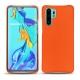 Funda de piel Huawei P30 Pro - Orange fluo