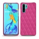 Coque cuir Huawei P30 Pro - Rose BB - Couture