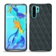 Huawei P30 Pro leather cover - Blu marino - Couture