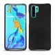 Huawei P30 Pro leather cover - Negre poudro