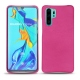 Huawei P30 Pro leather cover - Rose BB