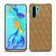 Coque cuir Huawei P30 Pro - Sable vintage - Couture