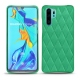 Huawei P30 Pro leather cover - Menthe vintage - Couture