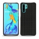 Huawei P30 Pro leather cover - Abaca nero