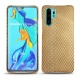 Huawei P30 Pro leather cover - Serpent sabbia