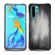 Coque cuir Huawei P30 Pro - Gris Patine
