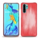 Huawei P30 Pro leather cover - Rose Patine