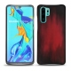 Coque cuir Huawei P30 Pro - Rouge Patine