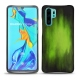 Huawei P30 Pro leather cover - Vert Patine