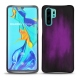 Huawei P30 Pro leather cover - Violet Patine