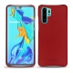 Huawei P30 Pro leather cover - Rouge PU