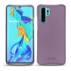 Huawei P30 Pro leather cover - Lilas PU