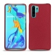 Huawei P30 Pro leather cover - Rouge passion