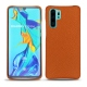 Huawei P30 Pro leather cover - Orange vibrant