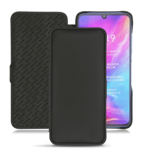 Housse cuir Xiaomi Mi 9 - Noir PU
