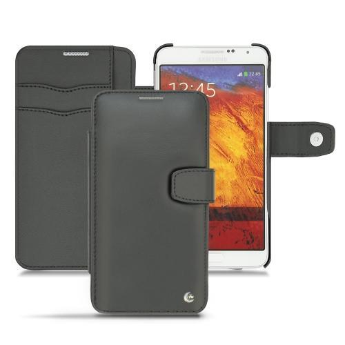 Housse cuir Samsung Galaxy Note 3 Neo - Noir ( Nappa - Black )