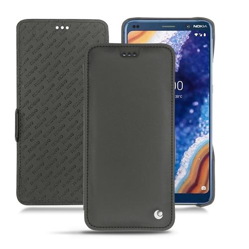 Nokia 9 PureView leather case - Noir ( Nappa - Black )