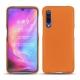 Coque cuir Xiaomi Mi 9 - Orange ( Nappa - Pantone 1495U )