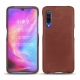 Xiaomi Mi 9 leather cover - Passion vintage ( Glutton - Red )