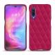 Xiaomi Mi 9 leather cover - Rose fluo