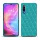 Custodia in pelle Xiaomi Mi 9 - Bleu fluo