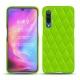 Coque cuir Xiaomi Mi 9 - Vert fluo