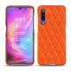 Coque cuir Xiaomi Mi 9 - Orange fluo