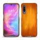 Funda de piel Xiaomi Mi 9 - Orange Patine