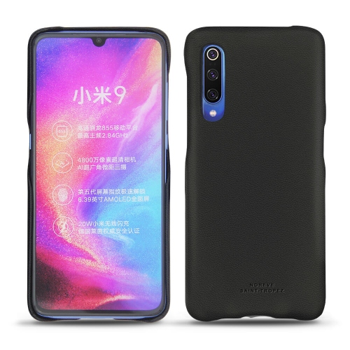 Funda de piel Xiaomi Mi 9 - Noir PU