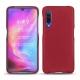 Coque cuir Xiaomi Mi 9 - Rouge passion