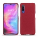 Xiaomi Mi 9 leather cover - Rouge passion