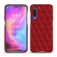 Funda de piel Xiaomi Mi 9 - Rouge - Couture ( Nappa - Pantone 199C )