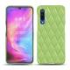 Funda de piel Xiaomi Mi 9 - Vert olive - Couture ( Nappa - Pantone 578U )