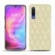 Funda de piel Xiaomi Mi 9 - Ivoire - Couture ( Sleek P C12 - White )