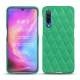Xiaomi Mi 9 leather cover - Menthe vintage - Couture