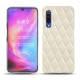 Funda de piel Xiaomi Mi 9 - Blanc escumo - Couture